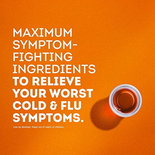 Vicks DayQuil and NyQuil SEVERE Cough, Cold and Flu Relief, 12 fl oz each (Combo Pack) - Relieves Sore Throat, Fever, and Congestion