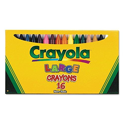 Binney & Smith Crayola(R) Large Crayon Set, Lift-Lid - Crayola Large Box Sets