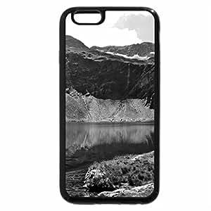 iPhone 6S Case, iPhone 6 Case (Black & White) - Highland lake