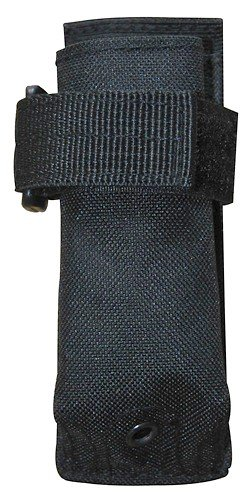 TG312B Black MOLLE Flashlight Pouch Hunting Airsoft, law enf