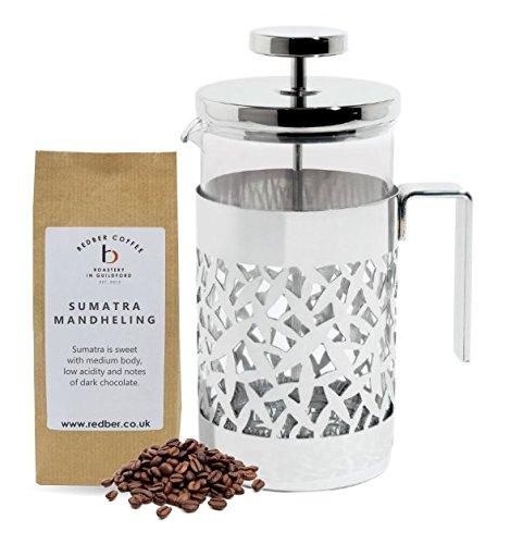Alessi Cactus cafetera con 125 g de café recién tostados: Amazon ...