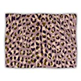 Kess InHouse Vasare Nar ''Leo Cheetah'' Animal Pattern Pet Dog Blanket, 40 by 30-Inch