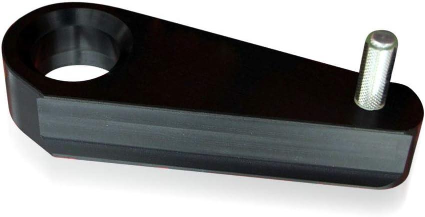 Black Ohoho Chain Guide Slider Front swingarm Replacement for Yamaha Banshee 1987-2006