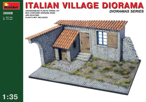 MiniArt 1:35 Scale Italy 1943 Diorama Plastic Model Kit from MiniArt