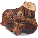 Brutus & Barnaby Knuckle Bone - Best All Natural Lasting Dog Bone - Beef Knuckle Is a Smoked, Meaty Bone with Natural Marrow Inside for Your Dog - Two Sizes for Your Large or Small Dog ...