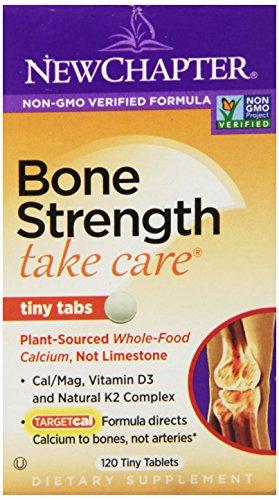 Новая глава Bone Сила Заботиться, 120 крошечные таблетки