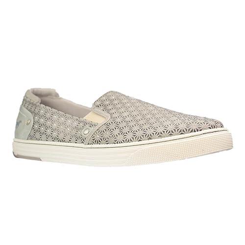 Mustang1246-401-243 - Mocasines Mujer , color gris, talla 43 EU: Amazon.es: Zapatos y complementos