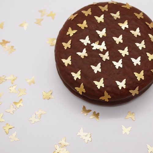 Natural Edible GMO Sugar Nuts Gluten Soy Free Glitter Butterfly (Halloween Cake Pops Uk)