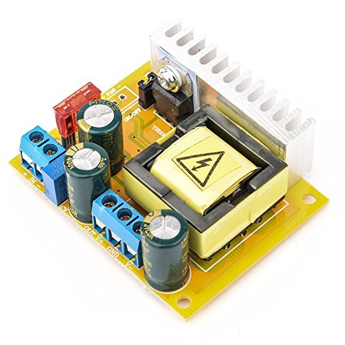 Qianson High Voltage DC-DC Boost Converter 8V-32V to ±45V-390V Adjustable ZVS Capacitor Charging Power Supply Module