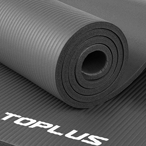 Toplus 1 2 Inch Extra Thick Exercise Yoga Mat With