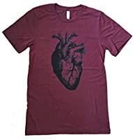 Friendly Oak Men's Anatomical Heart T-Shirt