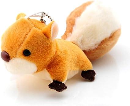 Toys for Children Animals Plush Dolls Squirrel Plush Toys Soft Stuffed Dolls