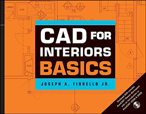 CAD for Interiors Basics, with DVD