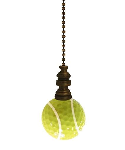 Amazon.com: Tennis - Lámpara de bola con cadena de latón ...