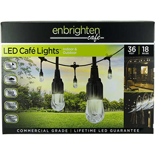 Enbrighten-Caf-LED-String-Lights-36-ft-18-Lifetime-Bulbs-Premium-Weatherproof-Shatterproof-Commercial-Grade-UL-Listed