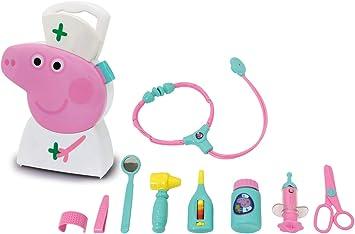 Peppa Pig Doctors Medical SetCarry Case Set6 PiecesKids Play Set Toy...