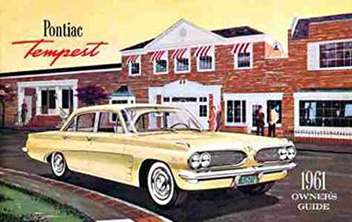 1961 PONTIAC TEMPEST FACTORY OWNERS INSTRUCTION & OPERATING MANUAL - USERS GUIDE - INCLUDES: Convertibles and Station Wagons
