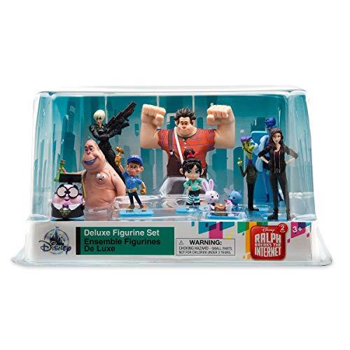 Disney Wreck It Ralph 2 Ralph Breaks The Internet Deluxe 10 Figurine Figure Set