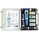 Apera Instruments PC60 Premium 5-in-1 Waterproof pH/Conductivity/TDS/Salinity/Temp. Multi-Parameter Pocket Tester, Replaceable Probe