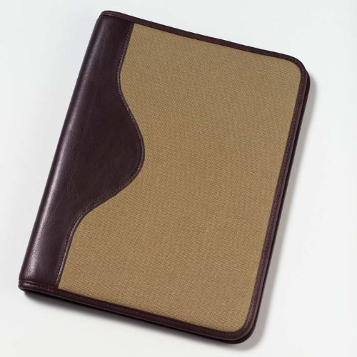 Clava Canvas Padfolio with Leather - Binder Clava