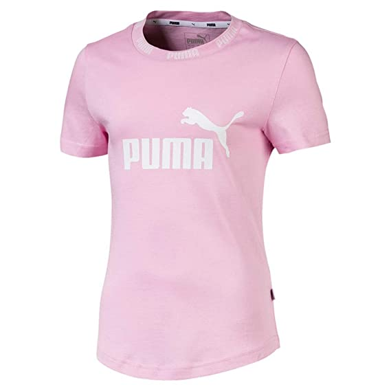 Puma Amplified G Kinder T Shirt Pale Pink