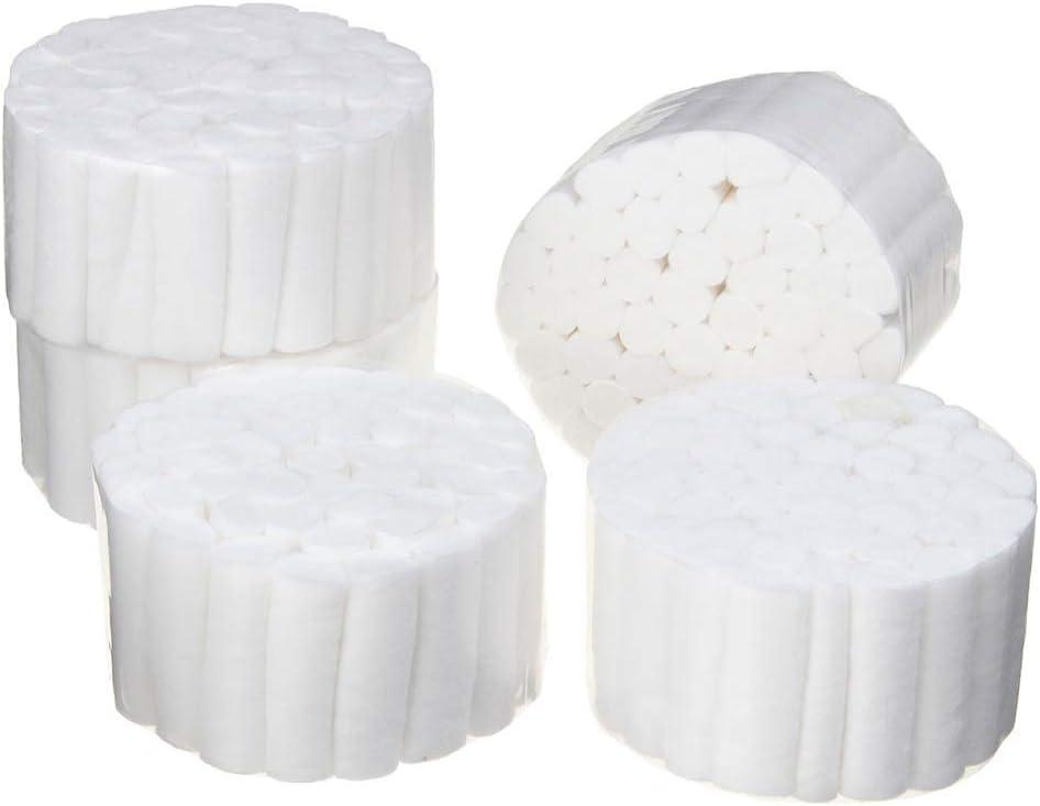 Rollos de algodón no estéril, 100% algodón de alta absorbencia, 5 ...