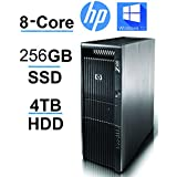 HP Z600 2 X Quad Xeon upto 3.33GHz, 256GB SSD, 4TB HDD, 24GB RAM,USB 3(Certified Refurbished)