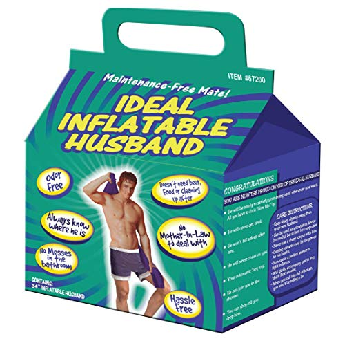 Ideal Inflatable Husband or Boyfriend Blow Up Novelty Gift