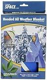 Grabber Outdoors Original Space Brand Sportsman's Hooded Blanket/Poncho: Blue,  Box