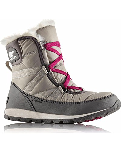 SOREL Womens Whitney Lace Short Snow Waterproof Warm Thermal Winter Boot - Quarry - 7 ()