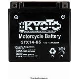 Batterie Moto KYOTO Ytx14-bs - Ss Entr. Aci L 150mm W 87mm H 147mm 12v 12ah Acide 0,69l
