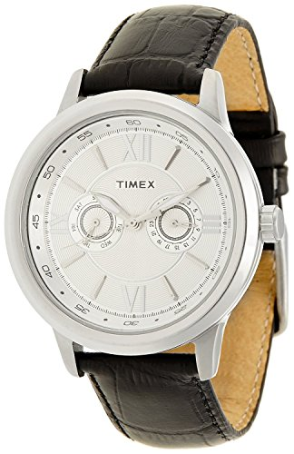 Timex-Empera-Analog-Silver-Dial-Mens-Watch-TI000O20200