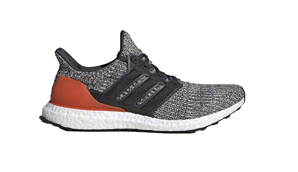 adidas Ultra Boost W, Chaussures de Sport Femme Raw White / Carbon / Active Orange