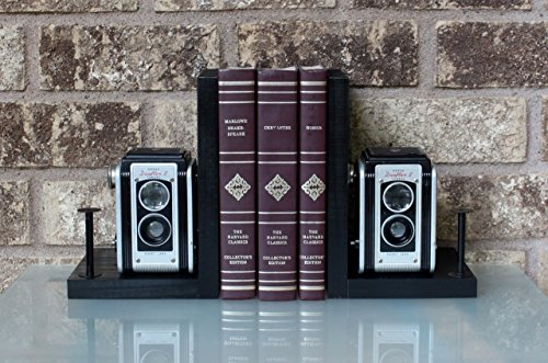 Kodak Duaflex II - Vintage Camera Bookends