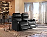 Octane Seating Diesel XS950 Theater Chairs Black