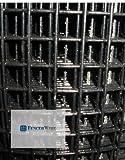 Fencer Wire Welded Wire 16 Gauge Vinyl Coated Black 24''x100' 1''x1''