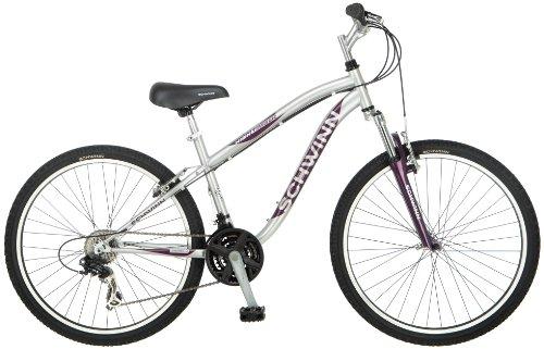 Schwinn Women's High Timber Mountain Bike, Silver, Small