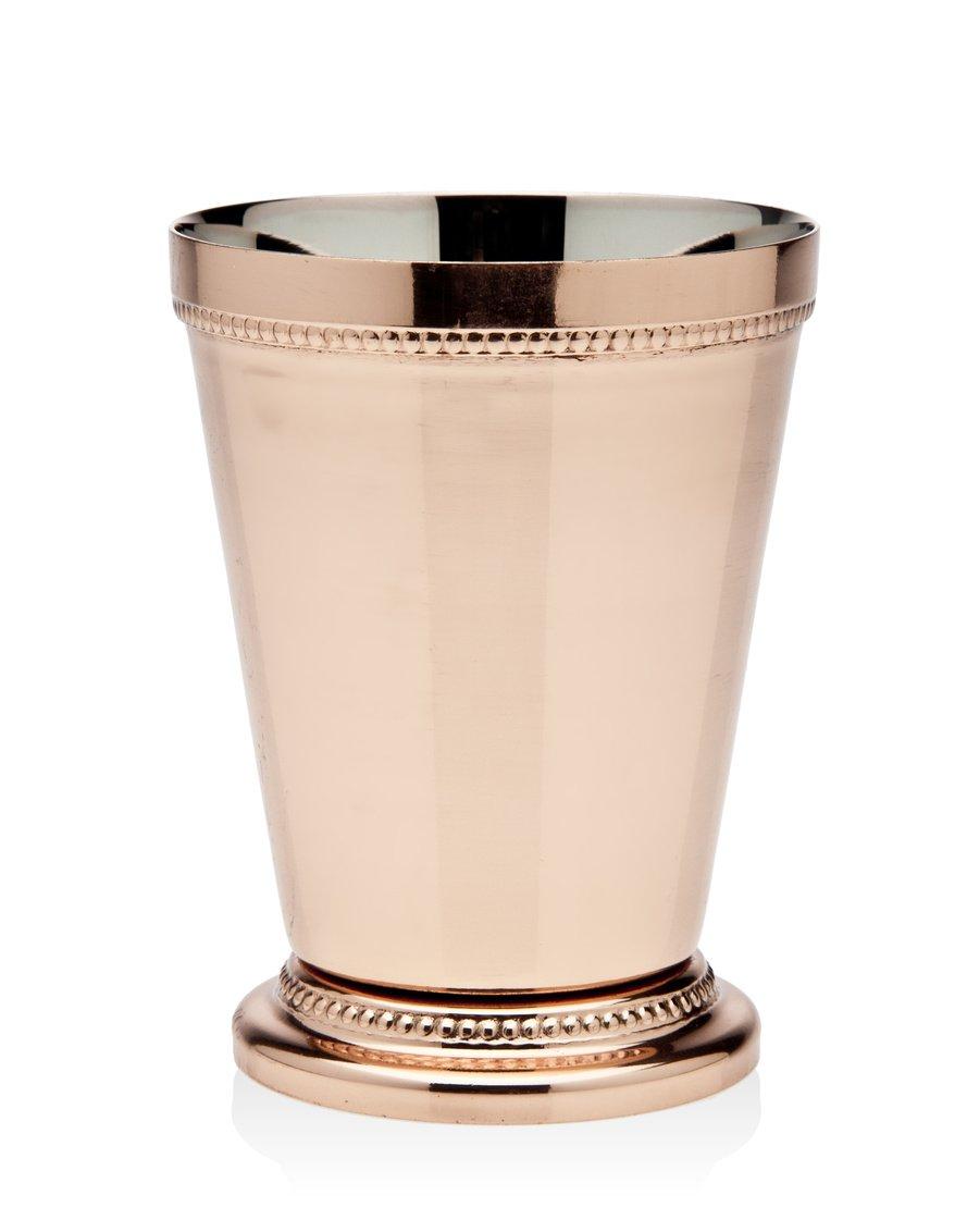 Godinger Beaded Mint Julep Cup, 4.25'', Copper