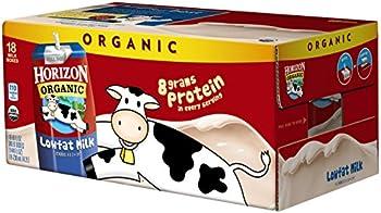 Horizon Organic 18-Pack of 8-Ounce 1% Low Fat Milk