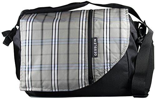 Gesslein, el cambio de bolsa, gris (color beige claro / azul)