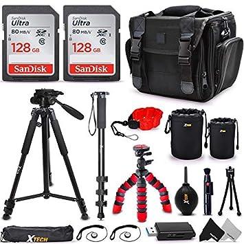 Amazon.com: Kit de accesorios para cámara universal: memoria ...