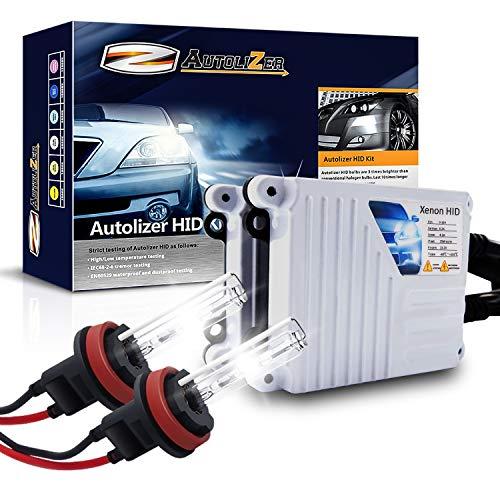 Autolizer 55W Xenon HID Lights [H11 H8 H9-6000K Pure White]