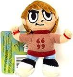 Mezco Toyz Scott Pilgrim Mini Plush Clip Power Up
