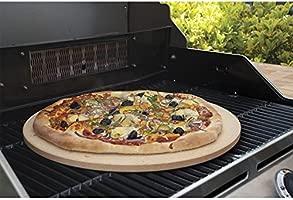 homdsim Pizza gratinar piedra, 13,3, piedra de cordierita para ...