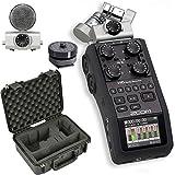 Zoom H6 Recorder & SKB 3I-1510H6SLR Waterproof H6 / DSLR Combo Case - Bundle