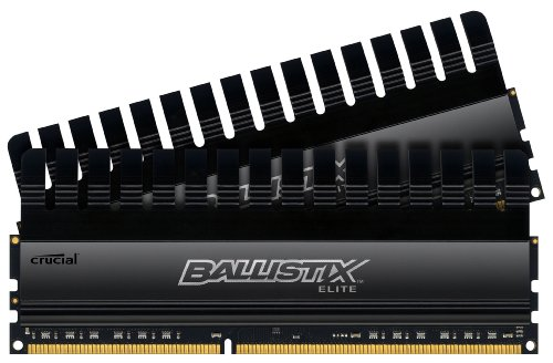 Ballistix Elite 16GB Kit 8GBx2 DDR3 1866 MT/s (PC3-14900) UDIMM 240-Pin Memory - BLE2KIT8G3D1869DE1TX0