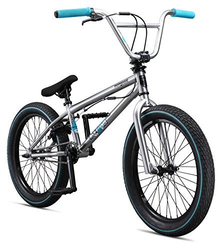 Mongoose Boys Legion L40 Bicycle, Silver, One Size/20