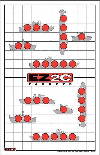 - EZ2C Targets Style 22 - Sink the Boats! Shooting Range Fun Game (25 Pack)