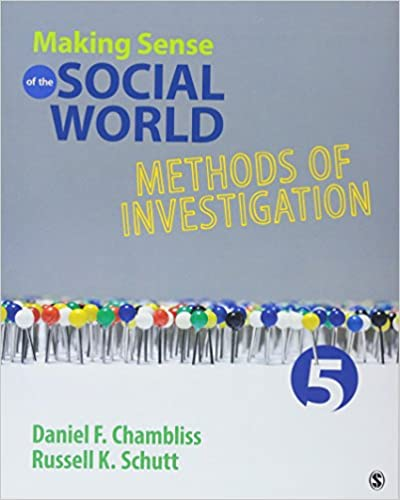 Making sense of the social world methods of investigation daniel f making sense of the social world methods of investigation fifth edition fandeluxe