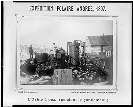 Foto: expédition Polaire, Salomon Andrée, Expediciones, hielo ...